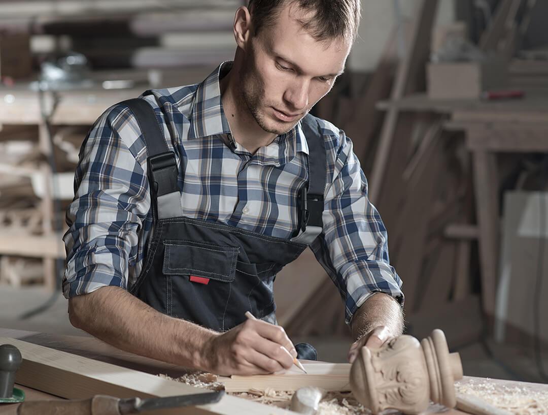 carpenter2 about man working