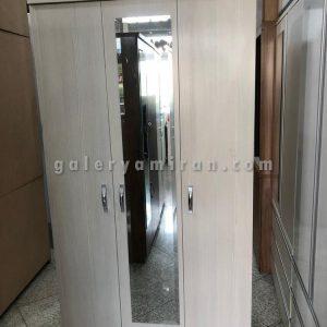 رختکن ۳درب عرض ۱۰۰ ارتفاع ۱۹۰ و عمق ۳۵ - دارای رنگ بندی